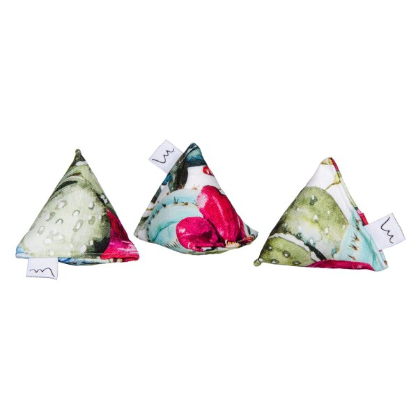 Mini Pyramid Set Cactus Design