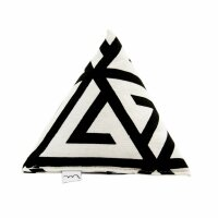 Big Pyramid Black and White Design