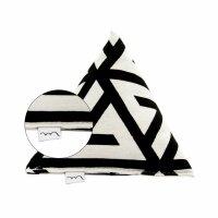 Große Pyramide Schwarz-Weiß Muster