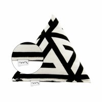 Big Pyramid Black and White Design