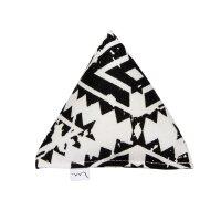 Große Pyramide Schwarz-Weiß Diamond