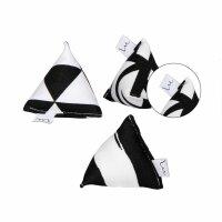 Mini Pyramiden Set Schwarz-Weiß